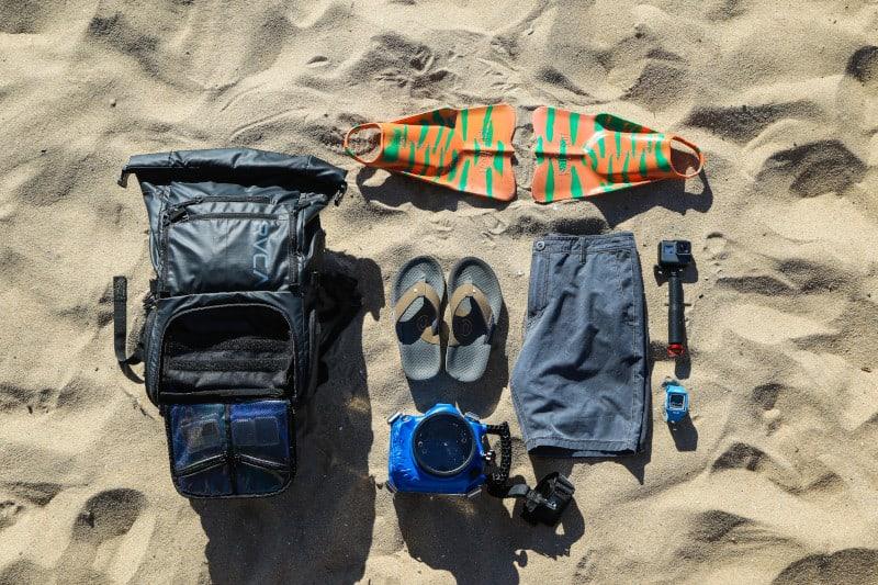 obiecte ordonate pe plaja