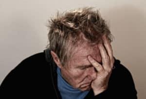 barbat suparat depresie și anxietate