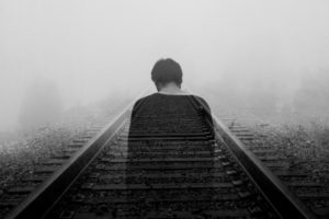 depresie și anxietate barbat sine de tren depresie