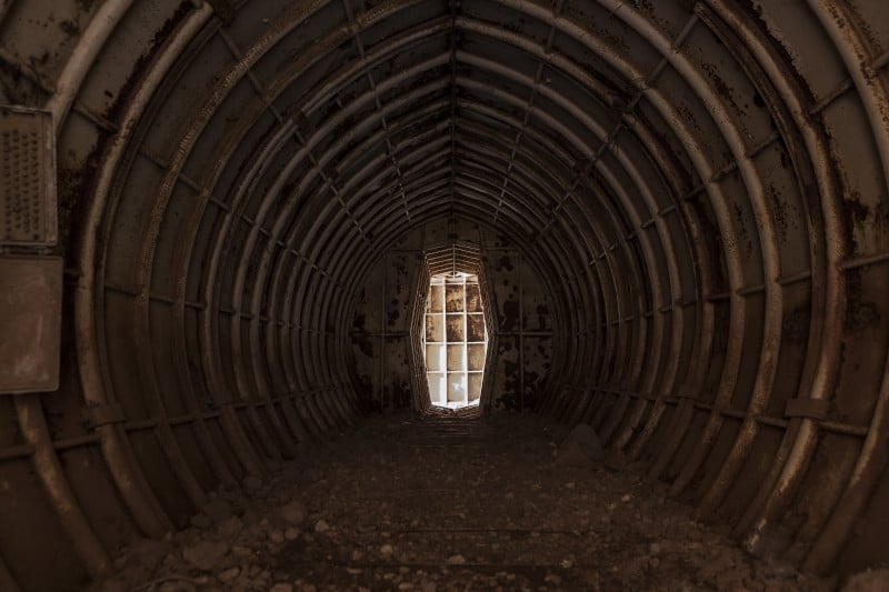claustrofobia tunel