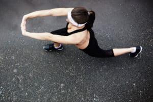 agorafobie femeie face sport